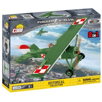 COBI 2976 - Great War Fokker E.V (D. VIII)