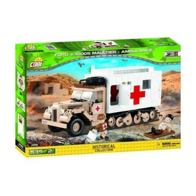 COBI 2518 - II WW Ford V3000S Maultier Ambulance
