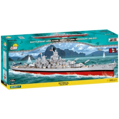 COBI 4812 - USS Iowa (BB-61) / Missouri (BB-63) 2in1