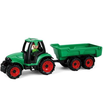 LENA: Truckies traktor utánfutóval és figurával 36 cm