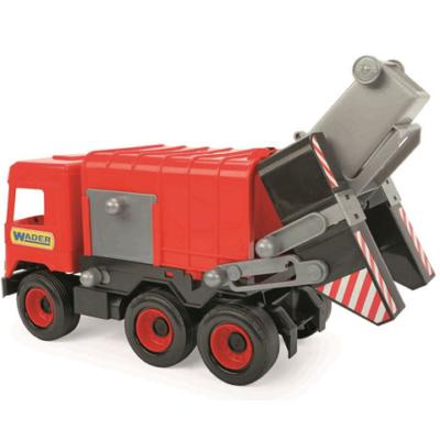Middle Truck: Kukás autó 43 cm piros – Wader