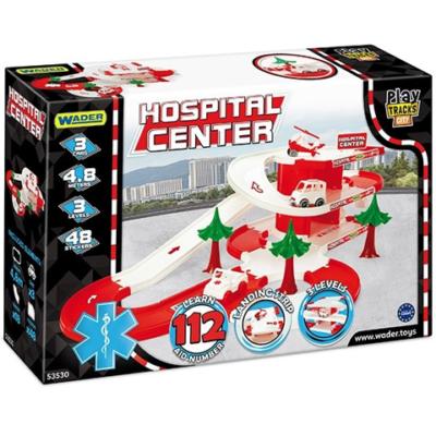 Kórház parkoló játékszett – Wader