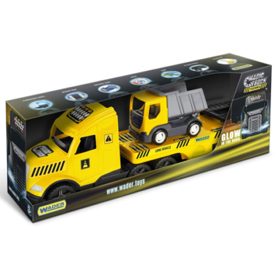 Magic Truck Technic kamion dömperrel 79 cm – Wader