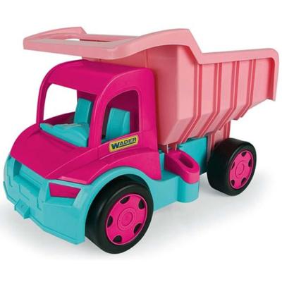 Gigant truck rózsaszín óriás Dömper 150 kg-os teherbírással – Wader