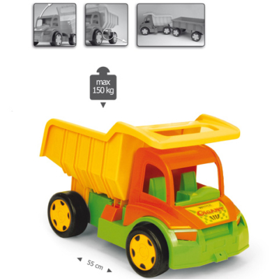 Gigant truck óriás Dömper 150 kg-os teherbírással – Wader
