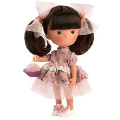 Llorens: Miss Minis Sara Pots 26cm-es baba süteménnyel