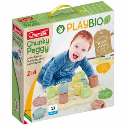 Quercetti: Play Bio Chunky pötyi 13db-os