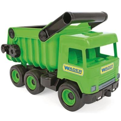 Middle Truck: Billentős dömper 43cm zöld - Wader