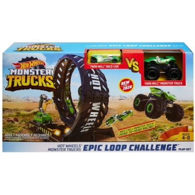 Hot Wheels Monster Trucks: Szörnyhurok pályaszett