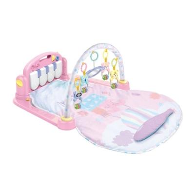 Bayo: Játszószőnyeg zongorával rózsaszín