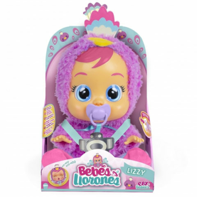 Cry Babies interaktív könnyes babák- Lizzy