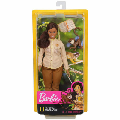 Barbie: National Geographic baba majommal