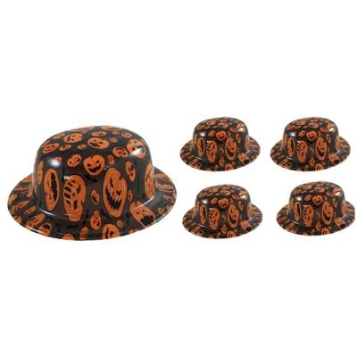 Műanyag halloween kalap 4db
