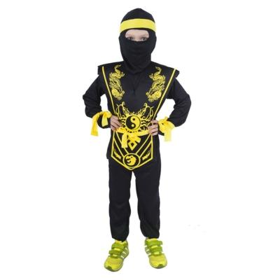 NINJA jelmez (sárga-fekete) méret:S