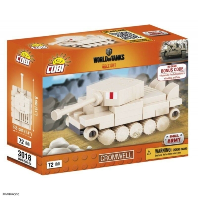 COBI 3018 - World of Tanks Nano Tank Cromwell