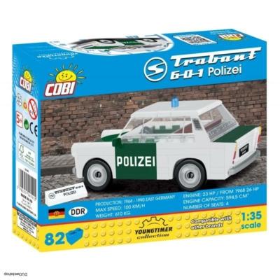 COBI 24541 - TRABANT 601 Rendőrség 1:35