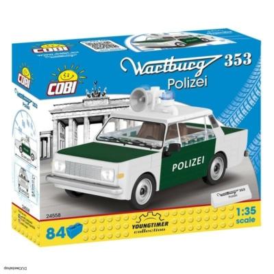 COBI 24558 - WARTBURG 353 Rendőrség 1:35