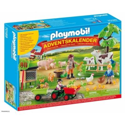 Playmobil 70189 - Adventi Naptár a gazdaságban
