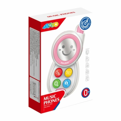 Bayo: Gyerekjáték bébi telefon pink