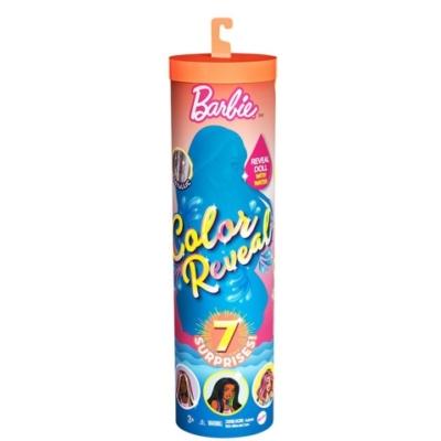 Mattel Barbie Color Reveal meglepetés baba 7 kiegészítővel 3.hullám