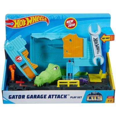 Hot Wheels: City gator garázs támadás pálya