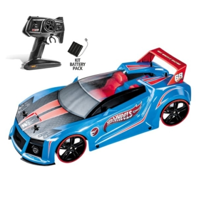 RC Hot Wheels Quick N'Sik távirányítós autó 1/10