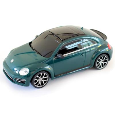 Volkswagen Beetle zöld távirányítós autó 1/24