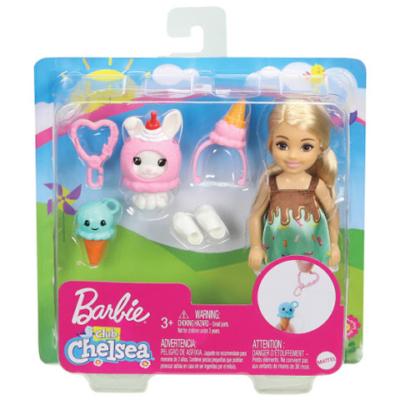 Barbie: Chelsea fagyis jelmezben kiegészítővel