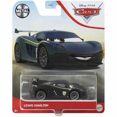 Verdák: Lewis Hamilton karakter-autó 1/55 – Mattel