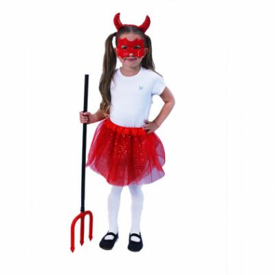 Tütü szoknyás ördög kosztüm