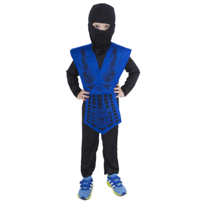 Ninja jelmez méret:M Kék